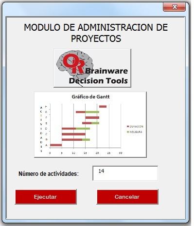 Pantalla modulo de administracion de proyectos or for Oficina de proyectos